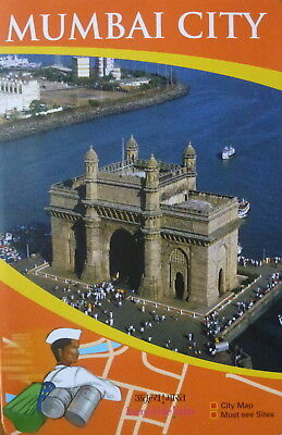 MUMBAI General Map - Tourist Attractions  - Free UK Postage