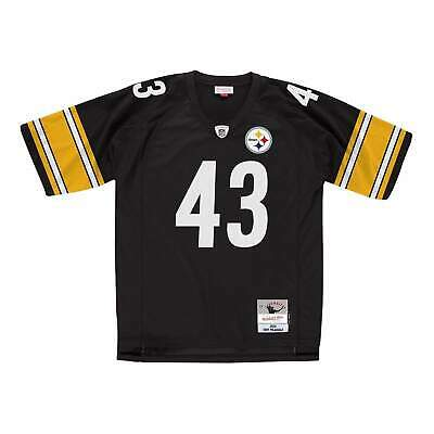 Troy Polamalu Pittsburgh Steelers Mitchell & Ness NFL Legacy Jersey - Black
