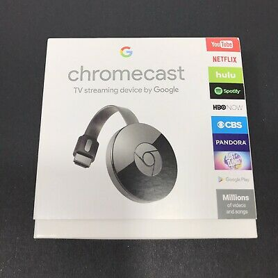 Google Chromecast Digital HD Media Streamer 2nd Generation Brand New Sealed