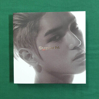 [Pre-Owned/ No Photocard] Taeyong Ver. SuperM 1st Mini Album - CD/ Booklet