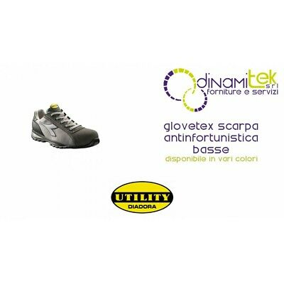 GLOVE TECH S1 P Hro Sra In Pelle Scarpa Antinfortunistica