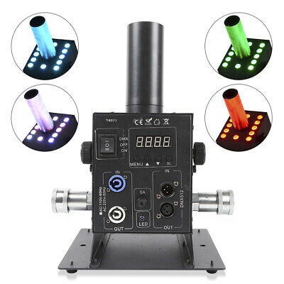 LED co2 jet machine dmx LED RGB 6CH stage lighting effect for party dj disco