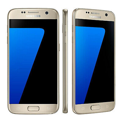 Samsung GALAXY S7 32GB 5.1 INCH UNLOCKED ANDROID SMARTPHONE SIM FREE 4G LTE GOLD
