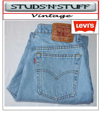 """Vintage Levis 512'S Slim Tapered Fit Jeans W32"""" L29"""" Aprox Size Uk 12 (T114"""