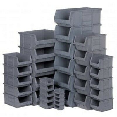 New Strong Plastic Storage Stacking Parts Picking Bins Boxes / High Quality