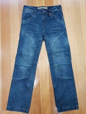 Boy's IND By INDUSTRIE Distressed DENIM JEANS - Great Condition / Size: 12