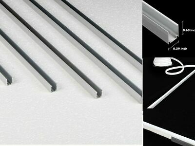 5pcs 3.3' Aluminum Holder Channel Track For 8x16mm LED Neon Rope Light Mounting