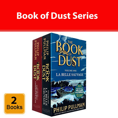 Philip Pullman Book of Dust 2 Books Collection Set The Secret Commonwealth NEW