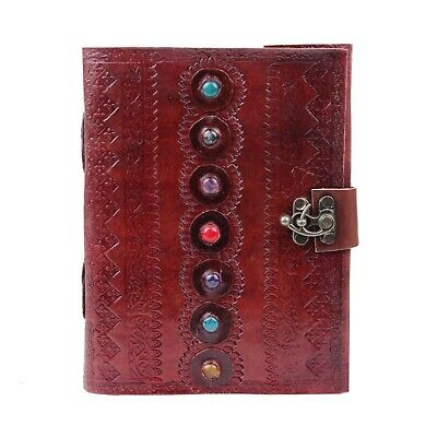 Embossed Handmade Book of Shadows Notebook Office Diary College Book Poetry Book