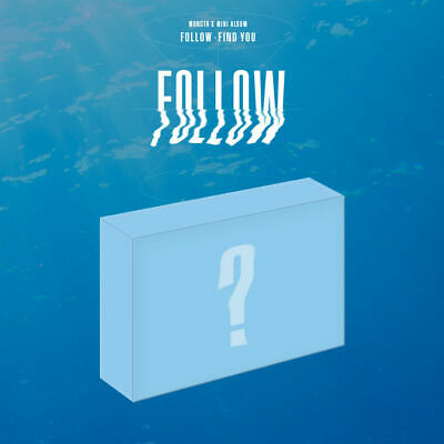 [KIHNO] MONSTA X - [ FOLLOW - FIND YOU ] KIT Postcard Photocards Tracking Sealed