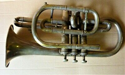BOOSEY & HAWKES LP CLASS A FVA  IMPERIAL Silver plated Cornet