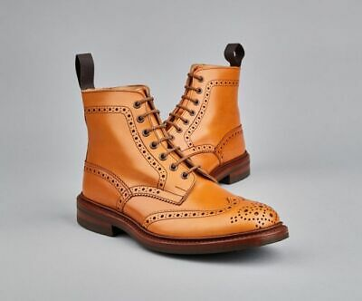 Mens Tricker's Stow Brogue Country Boot
