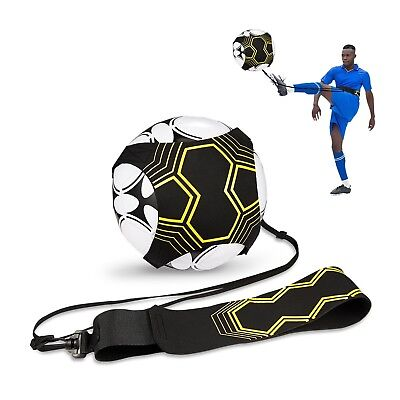 Football Training Self Equipment Soccer Trainer Sport Practice Skills Kick Ball