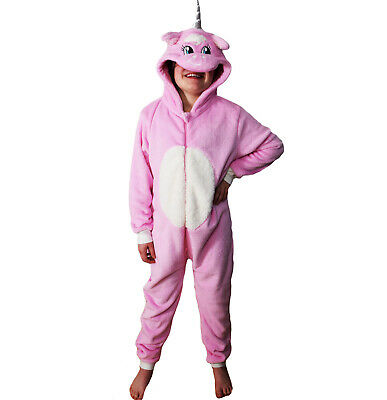 Pink Unicorn 1Onesie Boys Girls All-in-One Playsuit Onsies Adults Children Kids