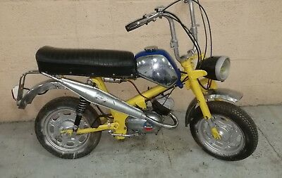 mobylette de camping car BENELLI CITY BIKE mini bike  avec guidon pliable