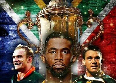 Rugby World Cup 2019: South Africa vs England photograph 11 - glossy A4 print