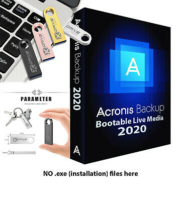 Acronis True Image 2020 BOOTABLE Backup Restore to another Drive SSD on 4GB USB