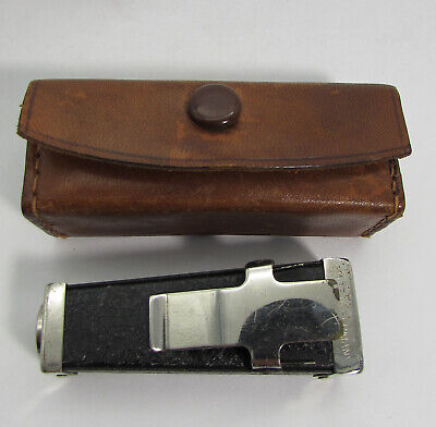 Vintage RHACO Clip-on viewfinder Made in Germany with leather case