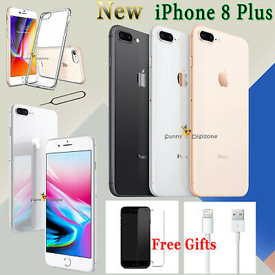 Apple iPhone 8 Plus NEW Network Unlocked SIM Free Smartphone 64GB 256GB Gold UK