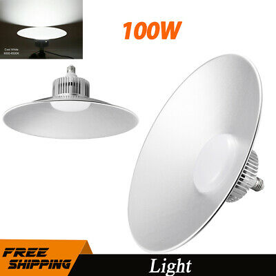200W 100W LED High Low Bay Light Commercial Warehouse Gym Shed Factory Lighting