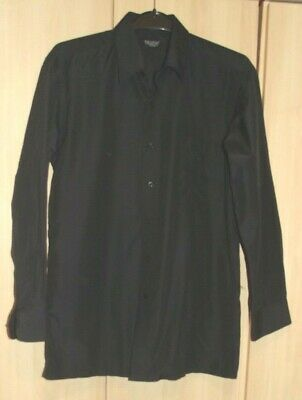 Device Boys Long Sleeved Black Shirt 13-14 Years In Vgc !