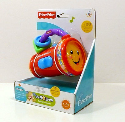 Fisher Price Ridi E Impara Torcia Luminosa 9-36M