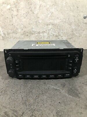 Jeep Cherokee Liberty Kj 3.7L V6 06' Radio Cd Player P05064119Aa / 500388196