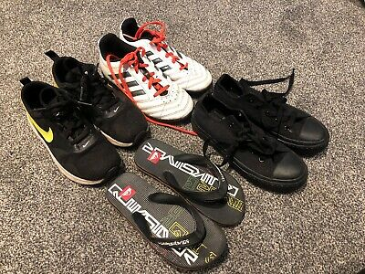 4X BOYS SHOES Trainers Nike Air Max Adidas Football School