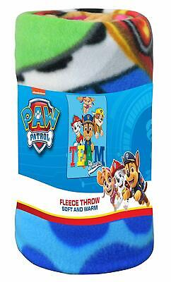 "Nickelodeon Paw Patrol 60"" x 45"" Fleece Throw Blanket Team Players"