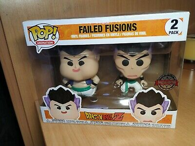 Funko pop Failed Fusions 2 pack fusion dragon ball Z Gotenks figure