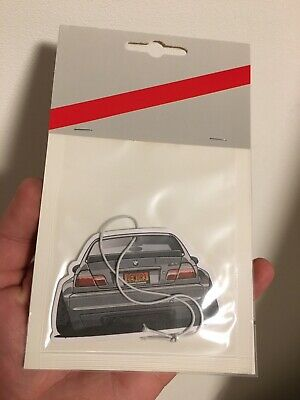 BMW E46 Air Freshener Design Black Ice Fragrance M3 318 330ci 320i 325i SPORT