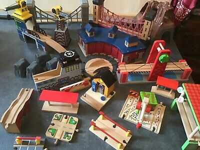 Accessories for wooden train track. BRIO, ELC etc. Combined postage.