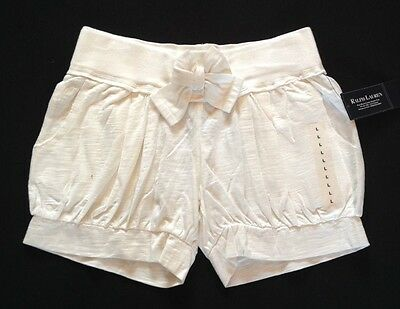 Ralph Lauren Girls Soft Short Age 12 (L) Cream Rrp £54 Now £18