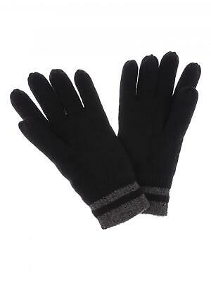 Mens Thermal 3M Thinsulate Knitted Full Finger Gloves Winter Warm Woolly Mitts