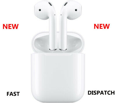 APPLE AirPods with Charging Case 2nd Generation White New