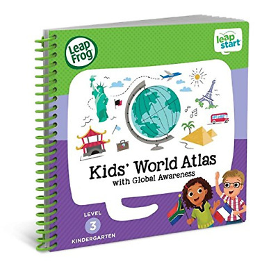 LeapFrog 21606 LeapStart Reception Kids World Atlas and Global Awareness Book