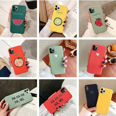 For iPhone 11 Pro Max 11 Pro Cute Pattern Slim Soft Silicone Rubber Case Cover