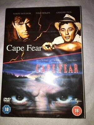 CAPE FEAR (DVD Box Set) Featuring Both The 1961 and 1991 Films - New and Sealed
