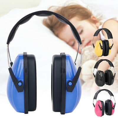 Sleeping Work Hearing Protection Ear Muffs Noise Reduction Adjustable Kids Baby