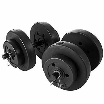 Marcy Unisexs Chrome Loadable Olympic Dumbbell Bar Handles