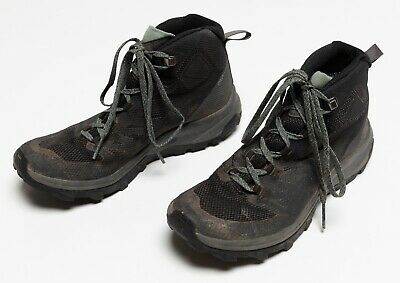 Details about Salomon Womens Viaggio Mid GTX W BlackPink Hiking Trail Shoes SZ. 7.5 US 6 UK