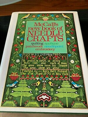 McCALL'S NEW BOOK OF NEEEDLE CRAFTS - HARD COVER - FREE POSTAGE