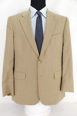Brooks Brothers 2Btn Houndstooth Wool Cashmere Blend Sport Coat Jacket Men's 42R