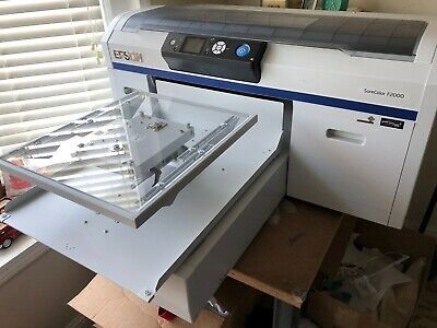 Epson F2000 SureColor DTG(Direct to Garment) Printer with Speed Treater