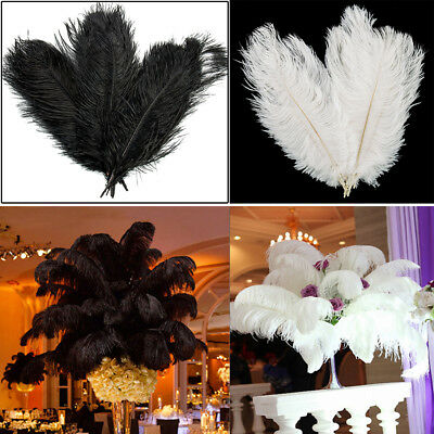 "20/50/100pcs Wholesale Ostrich Feathers Wedding Party Decoration 12-14"" 30-35cm"
