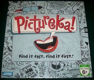 2007 PICTUREKA! Game - First Edition - Complete - Parker Brothers - Excellent