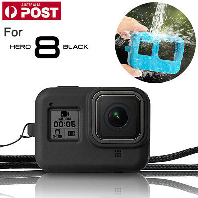 Protector Case Cover For Gopro Hero 8 Camera Soft Silicone Carry Cover With Rope