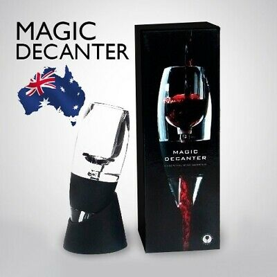 AU Magic Decanter Essential RED Wine Aerator and Sediment Filter