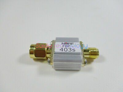 FBP-403s 403MHz acoustic surface wave band pass filter, bandwidth 6MHz