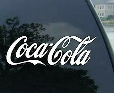 "2 BLACK X4-Variety Coca-Cola Coke Decal Sticker Die Cut Vinyl Coke 4/"" 2 RED"